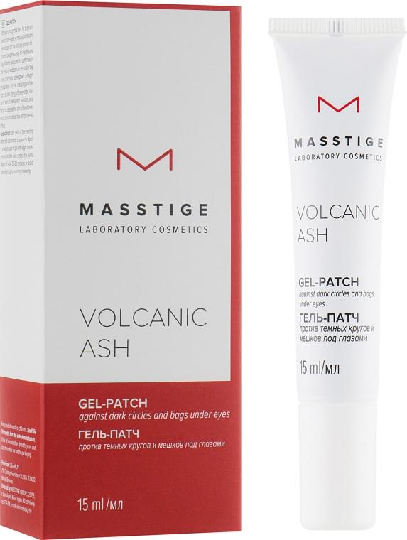 Гель-патч против темных кругов и мешков под глазами - Masstige Volcanic Ash Gel-Patch