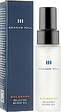 Парфумерія, косметика Олія живильна для бороди - Graham Hill Mulsanne Relaxing Beard Oil