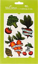 Духи, Парфюмерия, косметика Акварельные переводные тату - Miami Tattoos Old School Vegetables