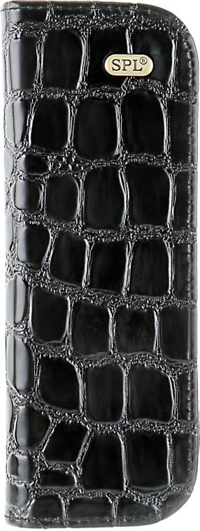 Футляр для парикмахерских инструментов, 77404, лаковый, черный - SPL
