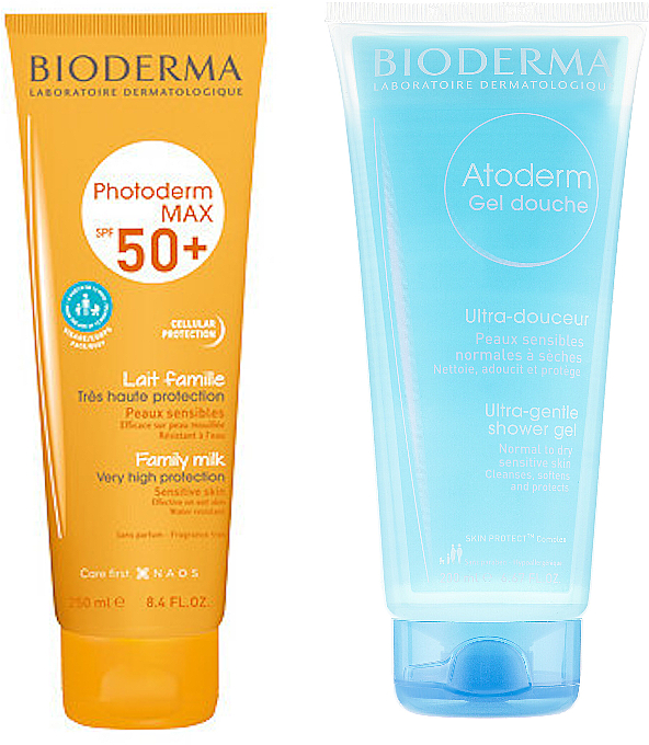 РАСПРОДАЖА Набор - Bioderma Photoderm Max (b/milk/250ml + b/gel/200ml)*