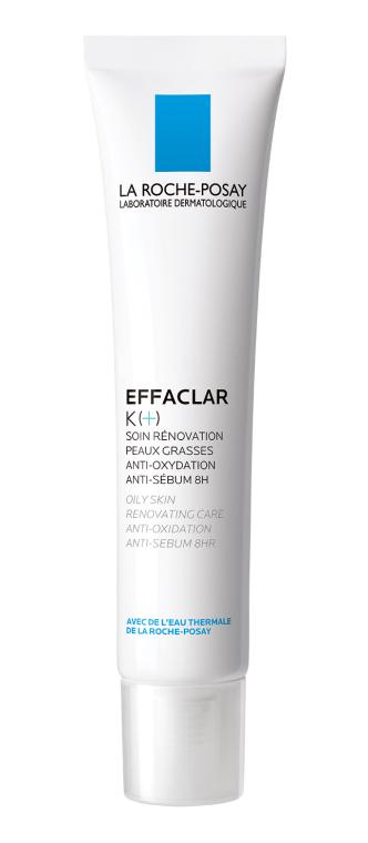 Восстанавливающее средство для ухода за комбинированной и склонной к жирности кожей лица - La Roche-Posay Effaclar K+
