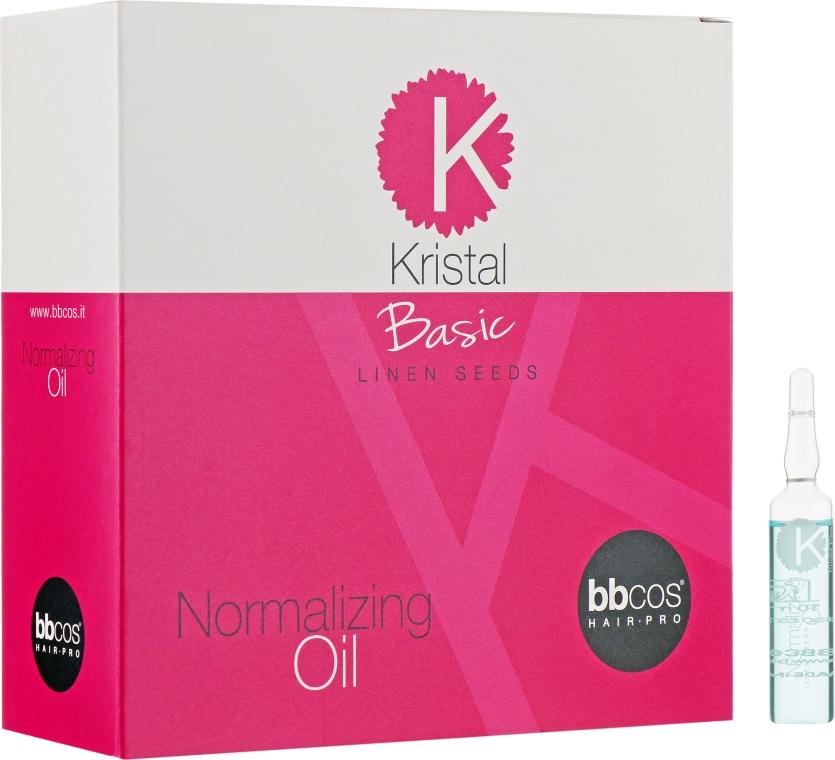 Масло для поврежденных волос - BBcos Kristal Basic Normalizing Oil