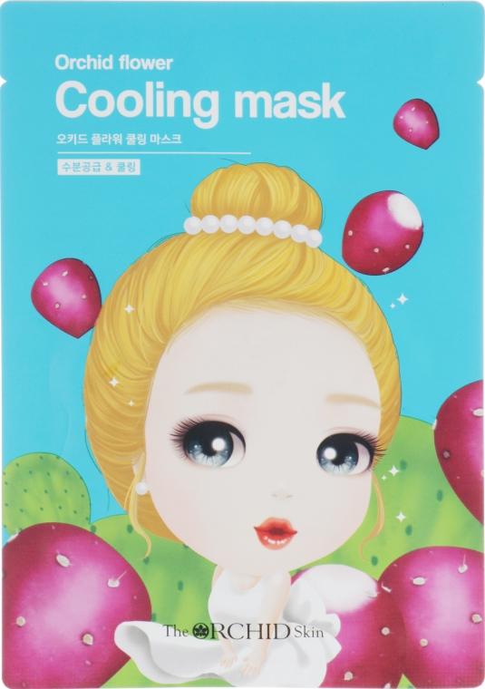 Тканевая маска для лица охлаждающая - The Orchid Skin Orchid Flower Cooling Mask
