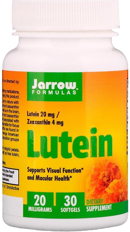 "Пищевые добавки """"Лютеин 20 мг"" - Jarrow Formulas Lutein 20mg"