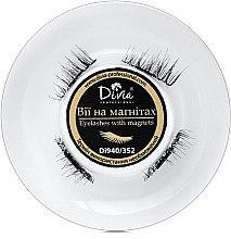 Ресницы накладные на магнитах Divia, Di940 - Divia — фото N2