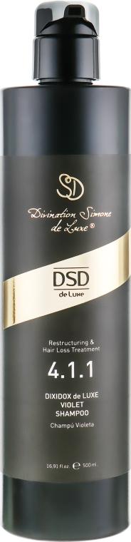 Фиолетовый шампунь Диксидокс Де Люкс № 4.1.1 - Simone DSD De Luxe Dixidox de Luxe Violet Shampoo