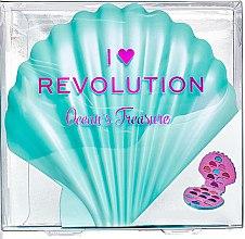 Духи, Парфюмерия, косметика Палетка теней для век, 21 оттенков - I Heart Revolution Ocean's Treasure Palette