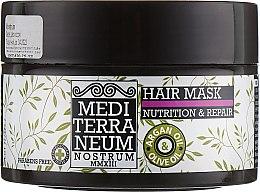 Духи, Парфюмерия, косметика Питательная и восстанавливающая маска для волос - Mediterraneum Nostrum Nutrition & Repair Hair Mask