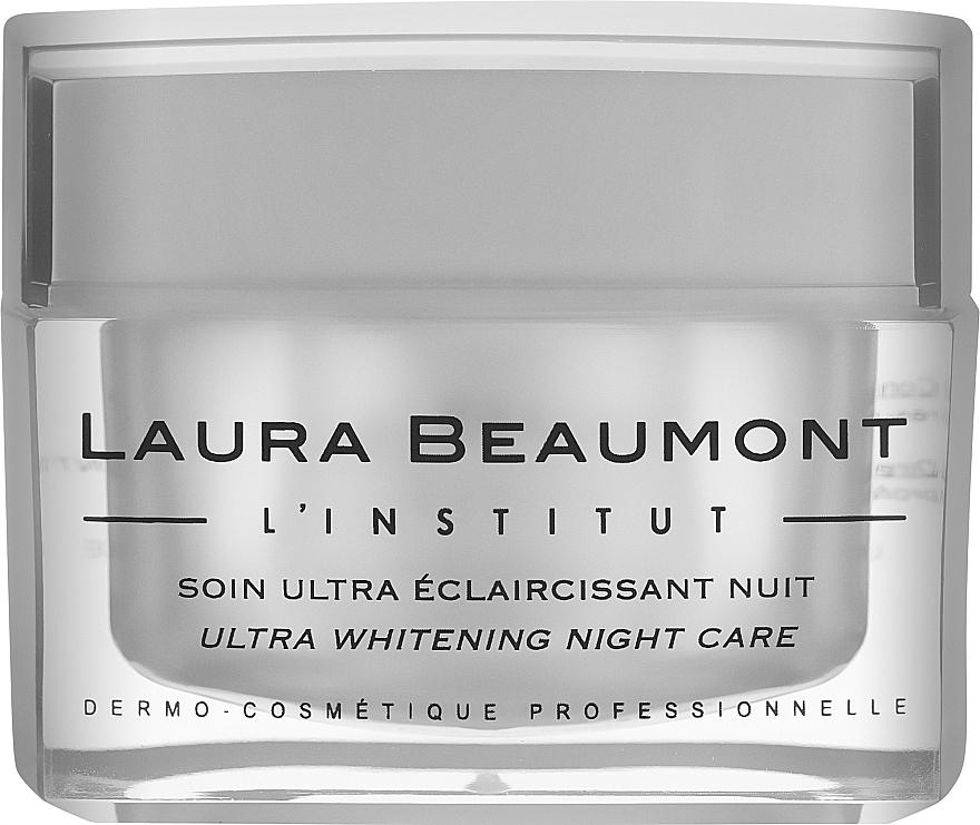 Ночной крем интенсивного осветления - Laura Beaumont Ultra Whitening Night Care