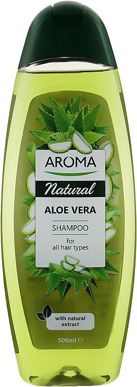 "Шампунь для волос ""Алоэ Вера"" - Aroma Natural Aloe Vera Shampoo"