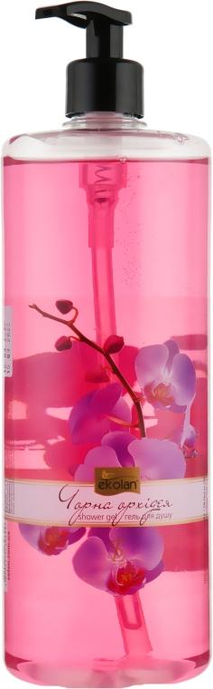 """Гель для душа """"Чёрная орхидея"""" - Ekolan"""