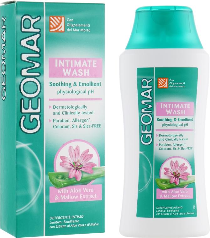 Средство для интимной гигиены с алоэ вера и экстрактом мальвы - Geomar Intimate Wash