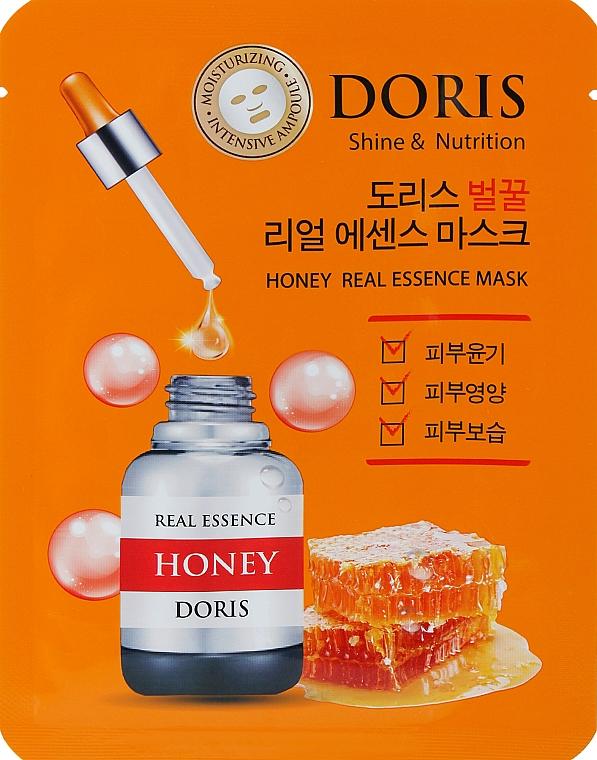 Ампульная маска для лица с экстрактом меда - Doris Honey Real Essence Mask