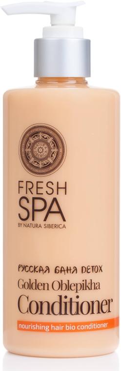 Био-бальзам для волос питательный - Natura Siberica Fresh Spa Russkaja Bania Detox Golden Oblepikha Conditioner