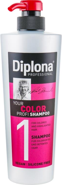 Шампунь для окрашенных волос - Diplona Professional Your Color Profi Shampoo