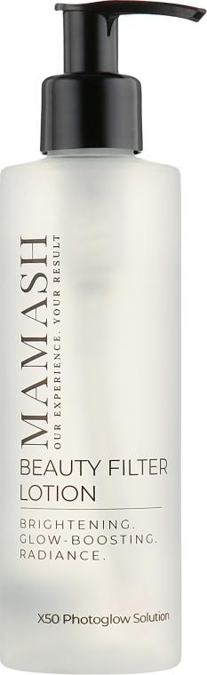 Лосьон-фильтр для максимального сияния кожи с пептидным комплексом - Mamash Beauty Filter Lotion — фото N1
