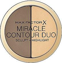 Духи, Парфюмерия, косметика Палетка для скульптурирования лица - Max Factor Miracle Contour Duo
