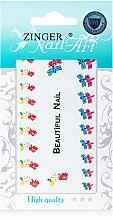 Духи, Парфюмерия, косметика Наклейки для дизайна ногтей, fda-10 - Zinger Nail Art Sticker 110