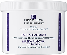 Духи, Парфюмерия, косметика Альгинатная маска для лица с гиалуроновой кислотой и коллагеном - Baltic Collagen