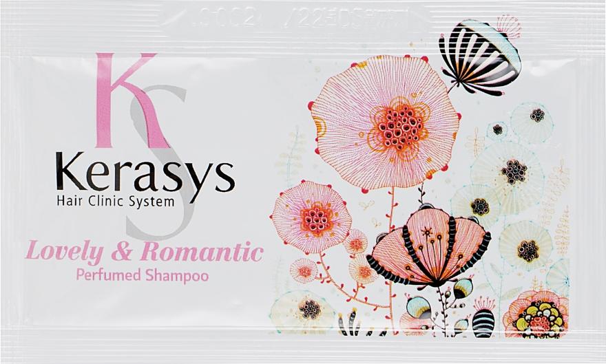 """Шампунь для волос """"Романтик"""" - KeraSys Lovely & Romantic Perfumed Shampoo (пробник)"""