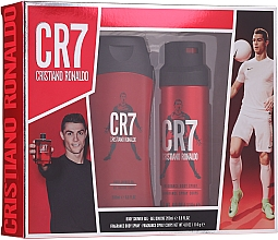 Духи, Парфюмерия, косметика Cristiano Ronaldo CR7 - Набор (sh/gel/200ml + deo/spray/114g)