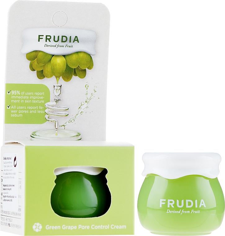 Себорегулирующий крем для лица - Frudia Pore Control Green Grape Cream (мини)