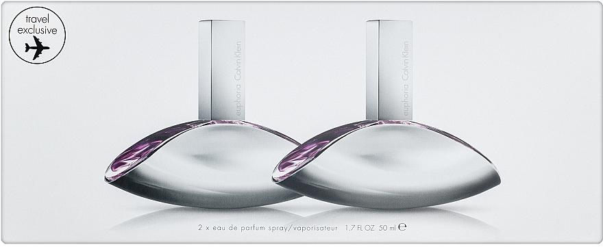 Calvin Klein Euphoria - Набор (edp/2x50ml)