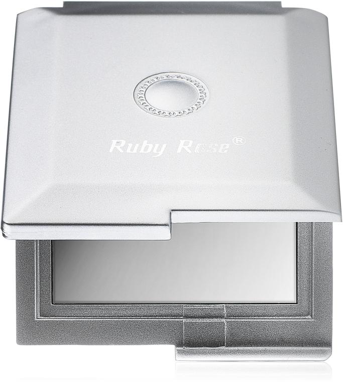 Зеркало двухстороннее квадратное, серебро - Ruby Rose Delux Two-Way Mirror