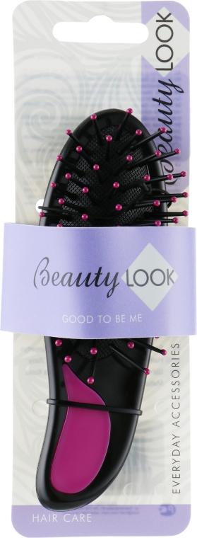 Расческа для волос, 485800, малиновая - Beauty Look