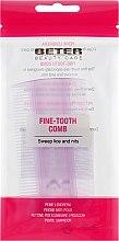 Духи, Парфюмерия, косметика Гребешок для волос, с тонкими зубчиками для удаления вшей и гнид, 10 см, фиолетовый - Beter Hair Care