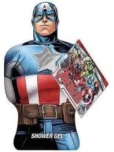 Духи, Парфюмерия, косметика Гель для душа - Marvel Avengers Captain America