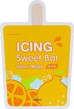 Духи, Парфюмерия, косметика Тканевая маска с экстрактом мандарина - A'pieu Icing Sweet Bar Sheet Mask Hanrabong