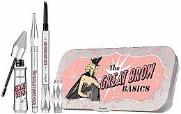 Духи, Парфюмерия, косметика Набор для бровей «Все в одном» - Benefit The Great Brow Basics (brow/gel/3g+brow/pencil/0.17g+brow/pencil/mini/0.04g)