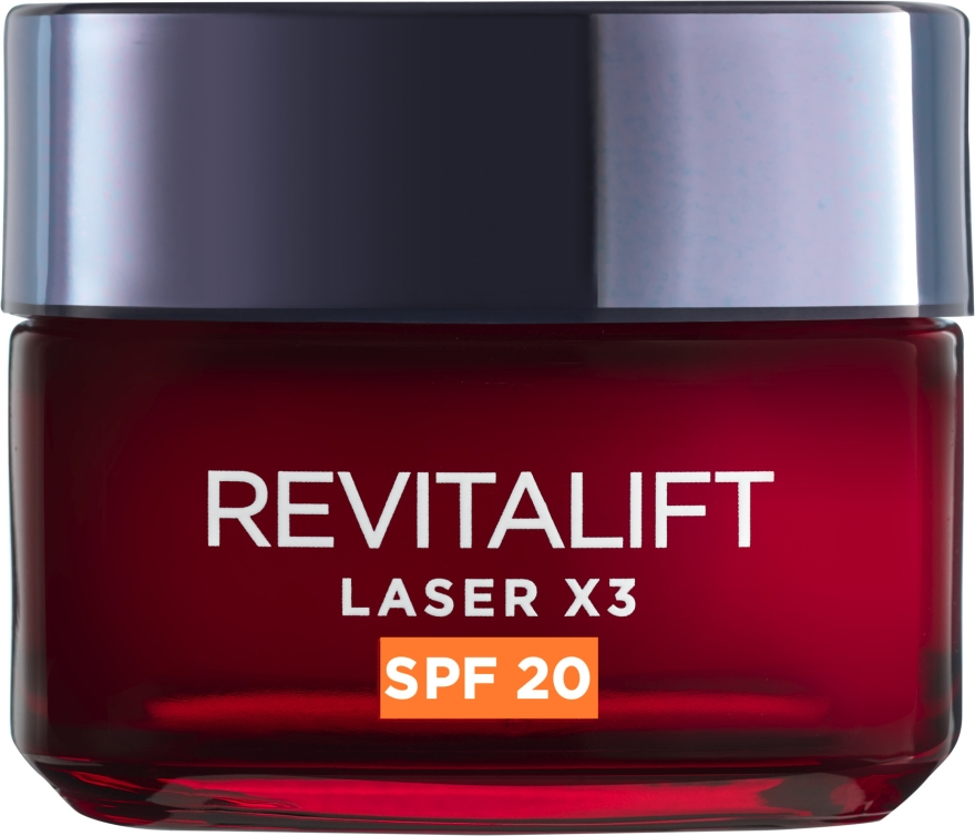 Дневной крем для лица - L'Oreal Paris Revitalift Laser X3 Anti-Age SPF 20