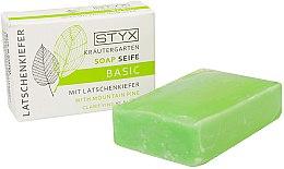 """Духи, Парфюмерия, косметика Мыло """"Сосна"""" - Styx Naturcosmetic Basic Soap With Mountain Pine"""