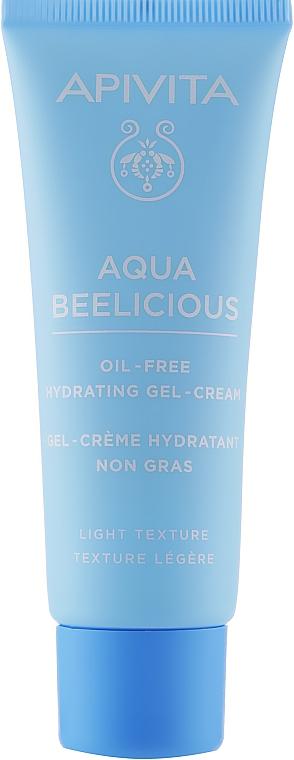Легкий увлажняющий крем-гель - Apivita Aqua Beelicious Light Gel-Cream