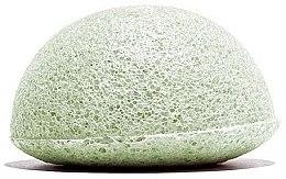 Спонж конняку с зеленым чаем - Love Nature Konjac Sponge — фото N1