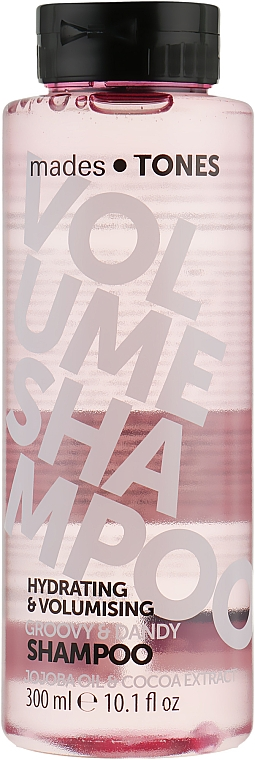 """Шампунь для объема """"Озорной"""" - Mades Cosmetics Tones Volume Shampoo Groovy&Dandy"""