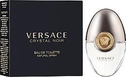 Парфумерія, косметика Versace Crystal Noir - Туалетна вода (міні)