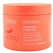 Духи, Парфюмерия, косметика Маска для сухих и поврежденных волос - H.Zone Option Murumuru Intensivr Mask Oil
