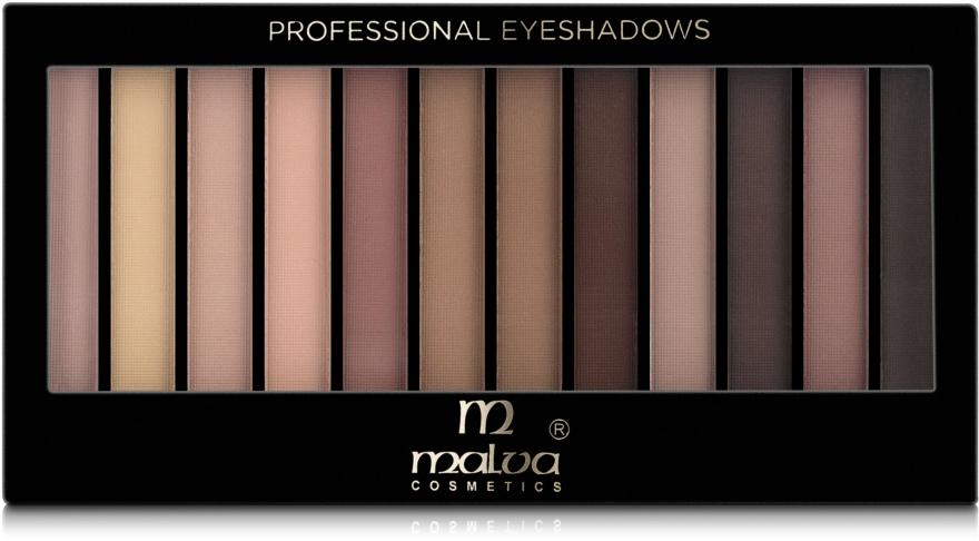 Палитра теней для век - Malva Cosmetics Temp Eyeshadow