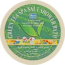 """Духи, Парфюмерия, косметика Скраб-соль для душа """"Зеленый чай"""" - Yoko Green Tea Spa Salt Shower Bath"""