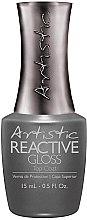 Духи, Парфюмерия, косметика Завершающее глянцевое покрытие для ногтей - Artistic Reactive Gloss Top Coat