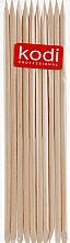 Духи, Парфюмерия, косметика Апельсиновые палочки для маникюра, 10шт. - Kodi Professional Orange sticks 15cm
