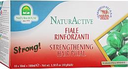 Духи, Парфюмерия, косметика Комплекс для укрепления волос с малахитом - Natura House Natur Active