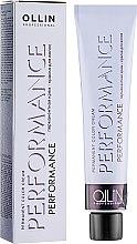 Парфумерія, косметика Перманентна крем-фарба для волосся - Ollin Professional Performance Permanent Color Cream