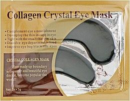 Духи, Парфюмерия, косметика Антивозрастные гидрогелевые патчи под глаза против морщин с коллагеном и экстрактом черного жемчуга - Veronni Collagen Crystal Eye Mask