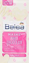 """Духи, Парфюмерия, косметика Маска для лица """"Белый Шоколад"""" - Balea Maske White Chocolate"""