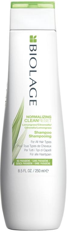 Нормализирующий шампунь для волос - Biolage Normalizing CleanReset Shampoo